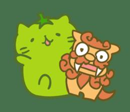 Honey Cat by Mitchiri Neko sticker #3640697