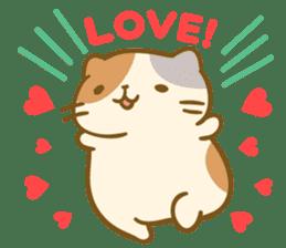 Honey Cat by Mitchiri Neko sticker #3640699