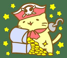 Honey Cat by Mitchiri Neko sticker #3640704