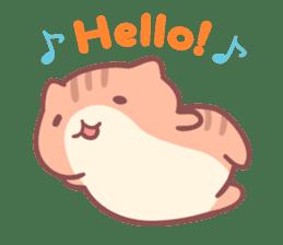 Honey Cat by Mitchiri Neko sticker #3640707
