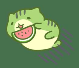 Honey Cat by Mitchiri Neko sticker #3640708