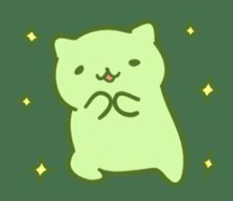 Honey Cat by Mitchiri Neko sticker #3640711