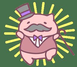 Honey Cat by Mitchiri Neko sticker #3640716