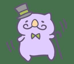 Honey Cat by Mitchiri Neko sticker #3640717