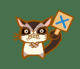 Kawaii!.Sticker of Flying squirrel sticker #3642344