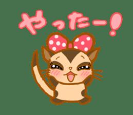 Kawaii!.Sticker of Flying squirrel sticker #3642351