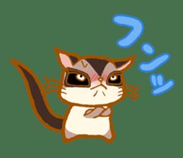 Kawaii!.Sticker of Flying squirrel sticker #3642353