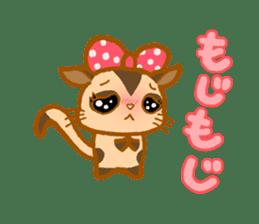 Kawaii!.Sticker of Flying squirrel sticker #3642372