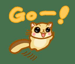 Kawaii!.Sticker of Flying squirrel sticker #3642377
