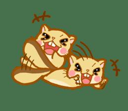 Kawaii!.Sticker of Flying squirrel sticker #3642381