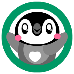 kawaii Comical Penguin