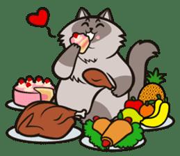 Pao Pao Piggy Cat sticker #3657154