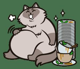 Pao Pao Piggy Cat sticker #3657155