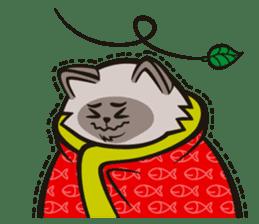 Pao Pao Piggy Cat sticker #3657159