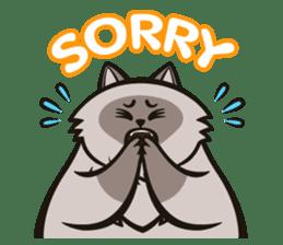 Pao Pao Piggy Cat sticker #3657171
