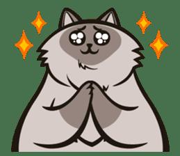 Pao Pao Piggy Cat sticker #3657177