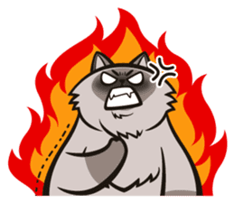 Pao Pao Piggy Cat sticker #3657182