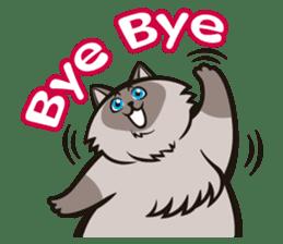 Pao Pao Piggy Cat sticker #3657189
