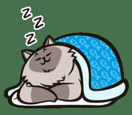 Pao Pao Piggy Cat sticker #3657190