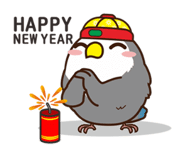 Misslovebird-Cute Lovebird sticker #3658231