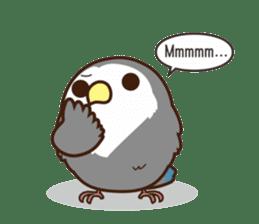 Misslovebird-Cute Lovebird sticker #3658237