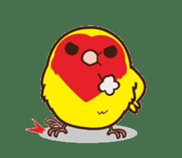 Misslovebird-Cute Lovebird sticker #3658239