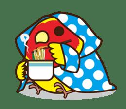 Misslovebird-Cute Lovebird sticker #3658240