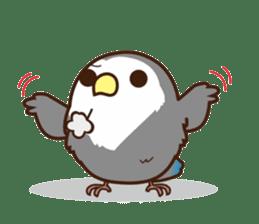 Misslovebird-Cute Lovebird sticker #3658242