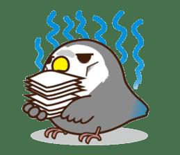 Misslovebird-Cute Lovebird sticker #3658247
