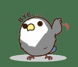 Misslovebird-Cute Lovebird sticker #3658248