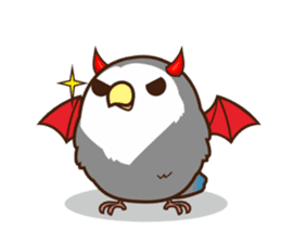 Misslovebird-Cute Lovebird sticker #3658251