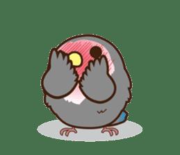 Misslovebird-Cute Lovebird sticker #3658254