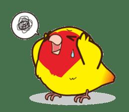 Misslovebird-Cute Lovebird sticker #3658255