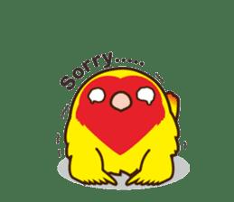 Misslovebird-Cute Lovebird sticker #3658257