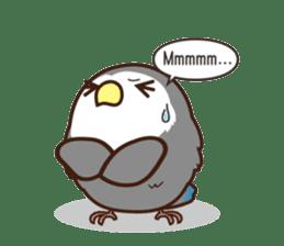 Misslovebird-Cute Lovebird sticker #3658258