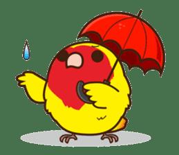 Misslovebird-Cute Lovebird sticker #3658259