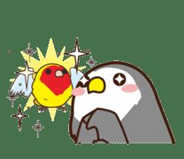 Misslovebird-Cute Lovebird sticker #3658260