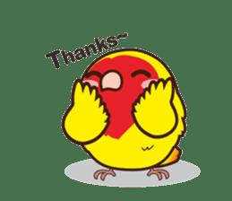 Misslovebird-Cute Lovebird sticker #3658261