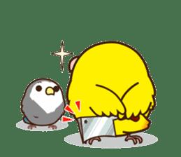 Misslovebird-Cute Lovebird sticker #3658267