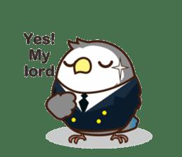 Misslovebird-Cute Lovebird sticker #3658269