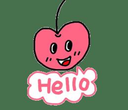 Smiling cherries sticker #3662871