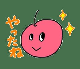 Smiling cherries sticker #3662898