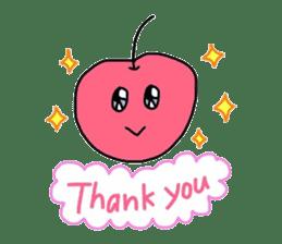 Smiling cherries sticker #3662904