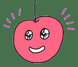 Smiling cherries sticker #3662909