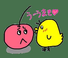 Smiling cherries sticker #3662910