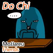 สติ๊กเกอร์ไลน์ MoJJareu Friends/DoChi