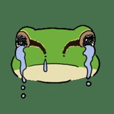 Tree frog man! sticker #3671593
