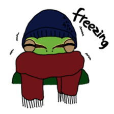 Tree frog man! sticker #3671608