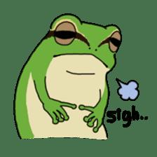 Tree frog man! sticker #3671615