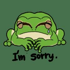 Tree frog man! sticker #3671616